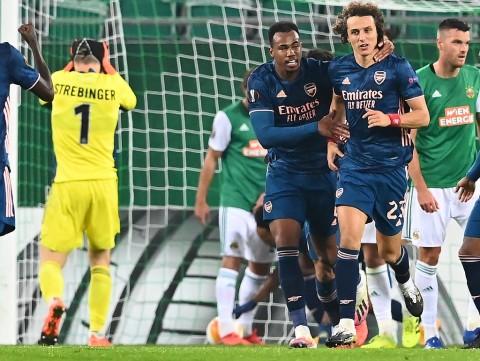 Rapid Wien Vs Arsenal The Gunners Berhasil Come Back Atas Tuan Rumah