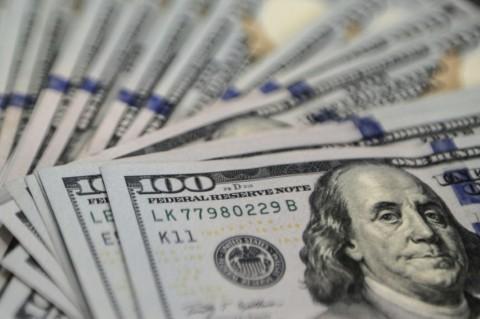 Kurs Dolar AS Merekah