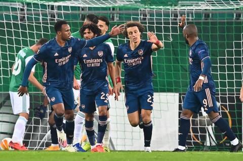 Liga Europa: Arsenal Menang Tipis 2-1 Atas Rapid