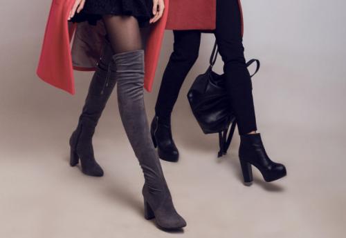 Sepatu Boot Tinggi Untuk Wanita Yang Nyentrik