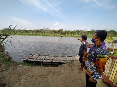 Jembatan Hanyut, Akses Kulon Progo-Bantul Terputus