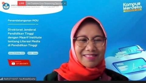 Dikti dan Ma'arif Institute Kerja Sama Tingkatkan Literasi Media