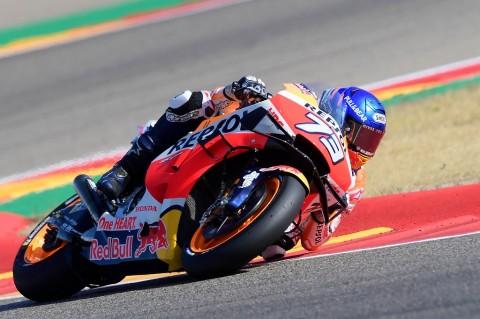 Alex Marquez Pimpin FP1 MotoGP Teruel