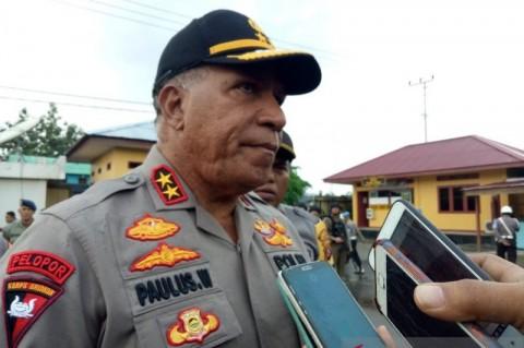 Anggota Brimob di Papua Jual Senpi ke KKB Ditahan