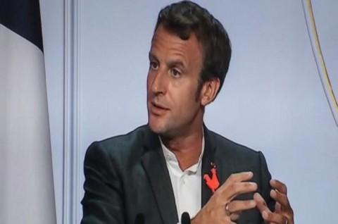 Macron: Covid-19 Ada di Prancis Hingga Musim Panas 2021