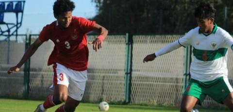<i>Internal Game</i> Mengakhiri 11 Uji Coba Timnas U-19 di Kroasia