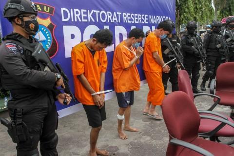 Kurir 16 Kg Sabu, Oknum Perwira Polisi Diringkus