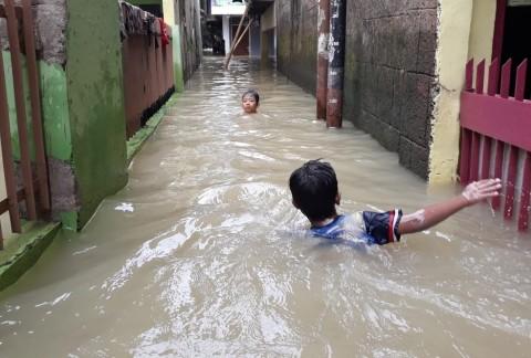 72 RT di Jakarta Tergenang Banjir
