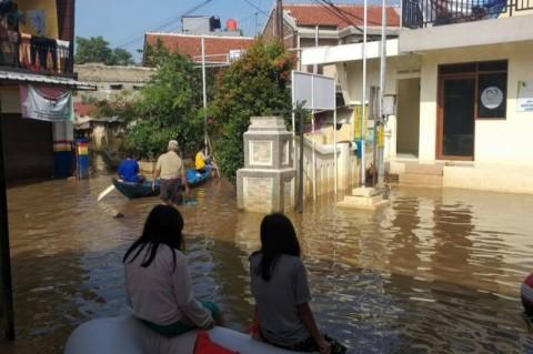 Tiga Dusun di Ciparay Kabupaten Bandung Terendam Banjir