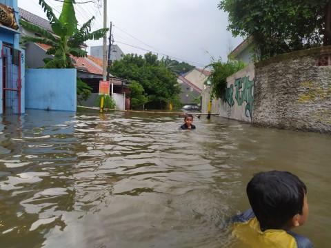 Belasan Rumah di Kota Bogor Terendam Banjir