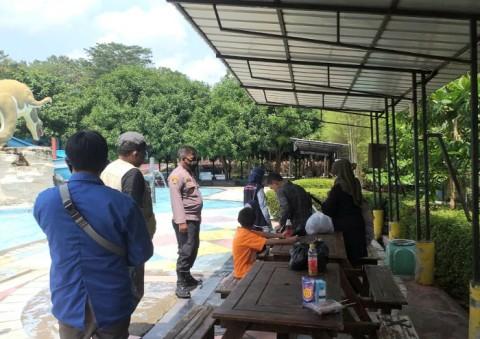 Polres Majalengka Pantau Penerapan Prokes di Tempat Wisata