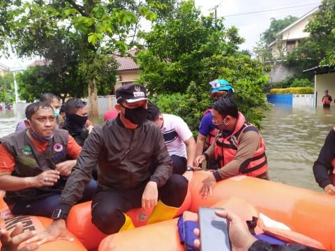 Bima Arya Pantau Lokasi Banjir