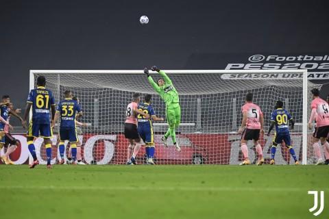 Juventus vs Hellas Verona: Bianconeri Susah Payah Amankan Satu Angka