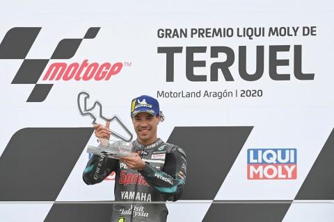 Seloroh Morbidelli Ungkap Kunci Kemenangan di MotoGP Teruel