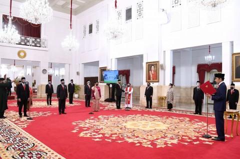 Jokowi Lantik 12 Dubes RI untuk Negara Sahabat