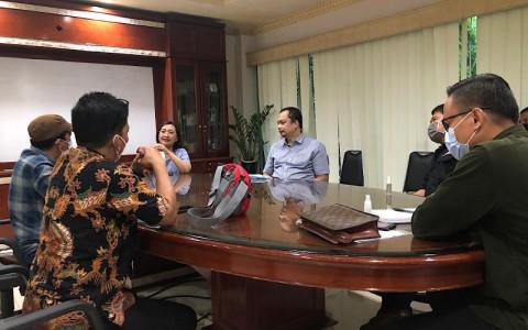KPUD Kota Makassar Survei Fasilitas Metro TV untuk Penyiaran Debat Publik