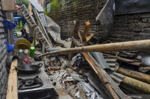 65 Rumah di Ciamis Rusak Akibat Gempa Pangandaran