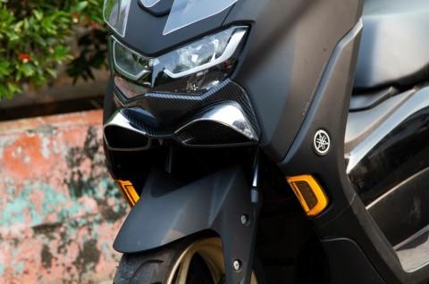 Aksesoris Lampu Sein JPA 'Cyber' untuk All New Yamaha Nmax