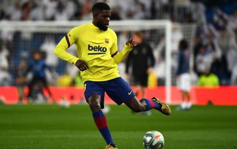 Umtiti Tolak Tinggalkan Barcelona