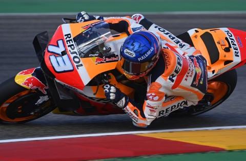 Penyebab Alex Marquez Terjatuh di MotoGP Teruel