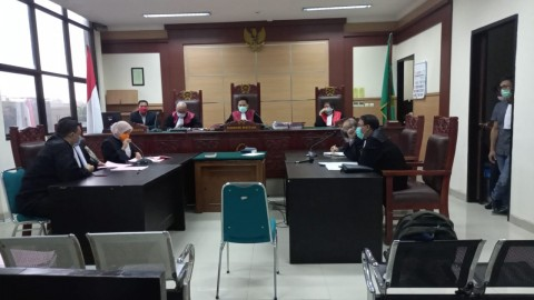 Anak Wakil Wali Kota Tangerang Didakwa Menyalahgunakan Narkoba