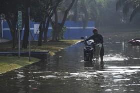 20 RT di Jakarta Tergenang usai Hujan Deras