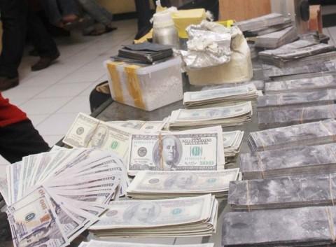 Pengedar Dolar Palsu di Lampung Ditangkap