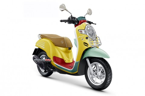 Bukan Cuma Vespa, Honda Juga Punya Sean Wotherspoon Edition