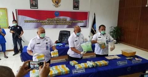 Penyelundupan Sabu 19 Kg dari Malaysia Digagalkan
