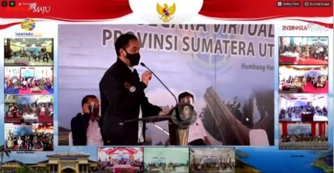 Jokowi Distributes 20 Thousand Land Certificates in North Sumatra