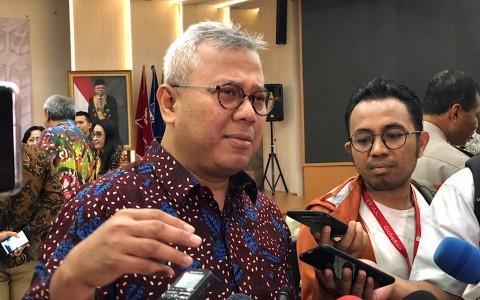 Sembuh dari Covid-19, Ketua KPU Kembali Bertugas