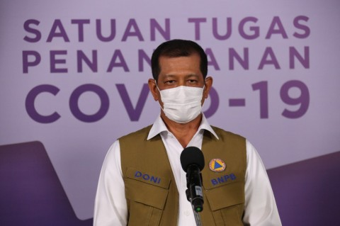 Task Force Says Covid-19 Situation in Indonesia is Improving