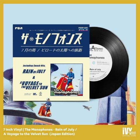 Piringan Hitam Berisi Lagu Ikonik dari Band Asal Jogja The Monophones Dirilis