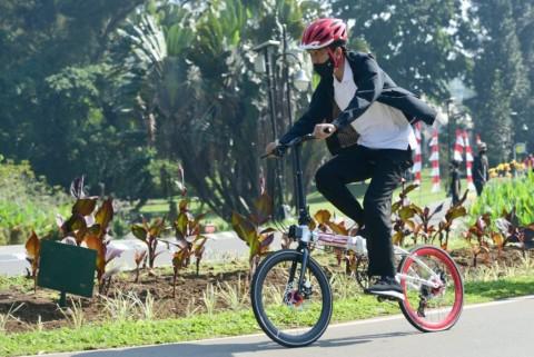 KSP Segera Laporkan Sumbangan Sepeda untuk Jokowi ke KPK