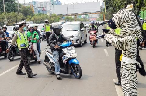 21.148 Kendaraan Terjaring Operasi Zebra Hari Pertama