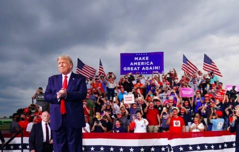 Situs Kampanye Trump Diretas