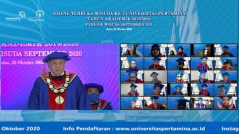 Rektor Universitas Pertamina Ingatkan Pentingnya Kuasai 'Soft Skills'