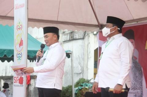 Cagub Kalteng Sugianto Janjikan Lapangan Pusat Kegiatan Warga