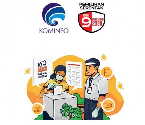 KPU Dibantu Kominfo Terapkan Rekapitulasi Elektronik