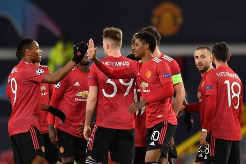 Manchester United vs RB Leipzig: Setan Merah Memberondong Lima Gol ke Gawang Tim Tamu