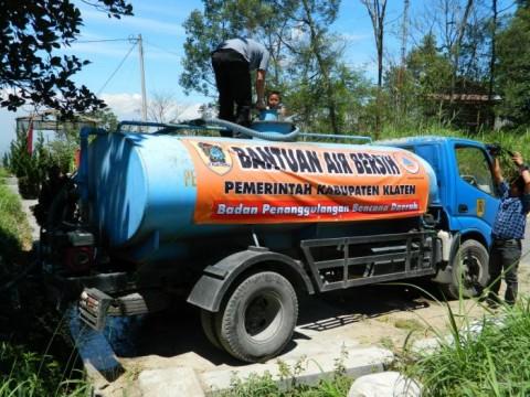 636 Tangki Air Bersih Disalurkan ke 19 Desa Kekeringan di Klaten
