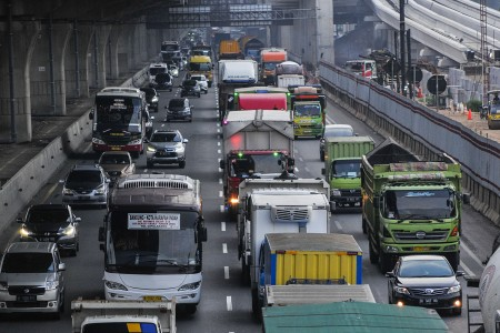 336 Ribu Kendaraan Meninggalkan Jakarta