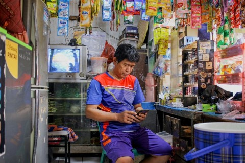 Warung Pintar dan BukuWarung Kerja Sama Percepat Digitalisasi UMKM