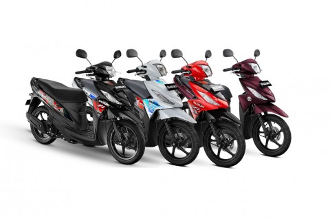 New Suzuki Address FI dibanderol Rp17 Jutaan, Apa Bedanya?