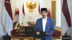 Peringati Maulid Nabi, Jokowi Menyelami Kisah Kelahiran Rasulullah