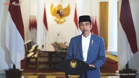 Jokowi Berterima Kasih MUI, NU, dan Muhammadiyah Peduli Penanganan Covid-19