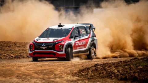 Xpander AP4 Akhirnya Siap Melaju di Kejuaraan Sprint Rally