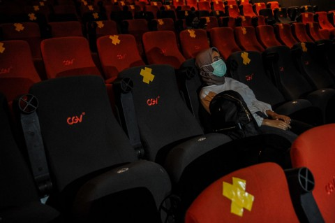 Masyarakat Diklaim Antusias Tonton Bioskop