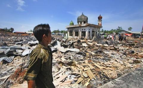 Kebakaran, Ratusan Rumah di Kotabaru Jadi Abu