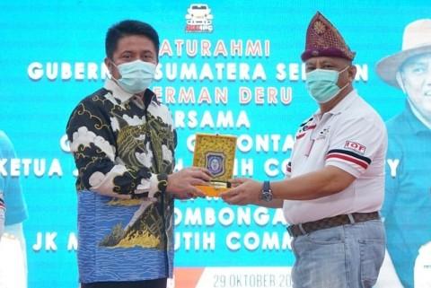 Gubernur Gorontalo Diberikan Mandat sebagai Ketua DMDI Gorontalo